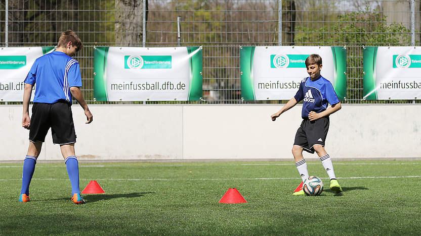 passspiel fußball trainieren
