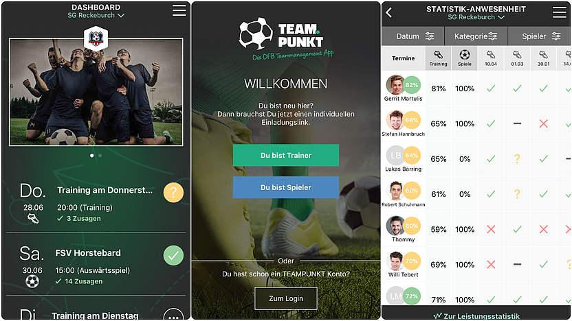 Jetzt Neu Alle Infos Zur Dfb App Teampunkt