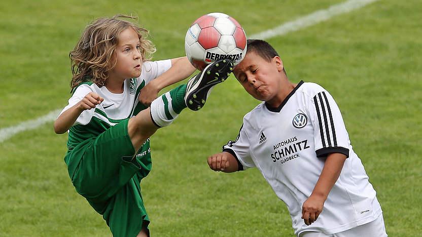 Kinderfussball Vorteile Der Neuen Spielformen