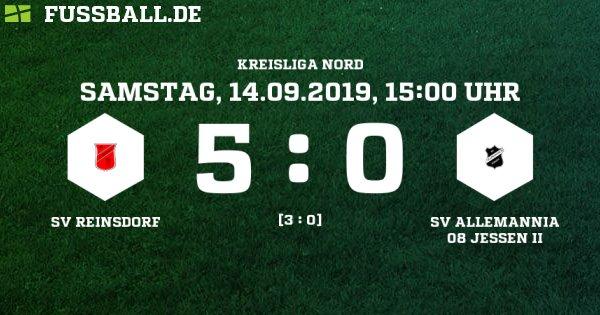 SV Reinsdorf krallt sich die Tabellenspitze - 1